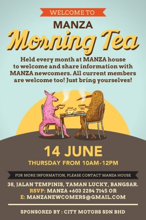 Welcome to MANZA Morning Tea