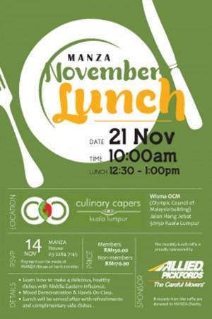 Manza Nov 14 Lunch