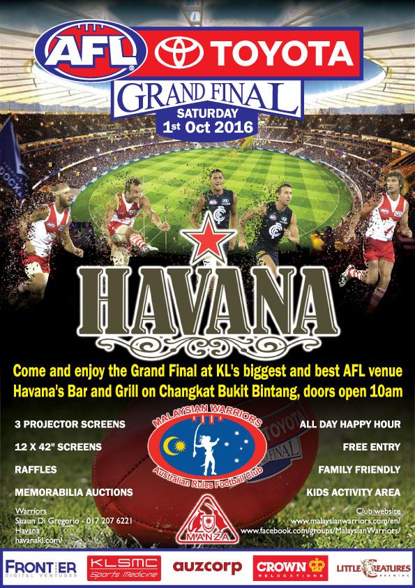 AFL Grand Final poster