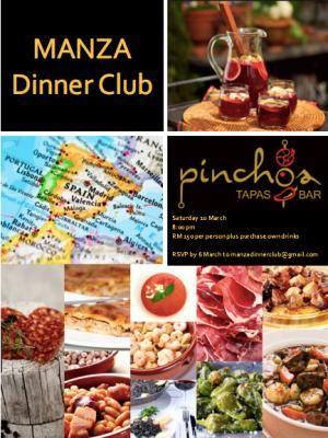 MANZA Dinner Club