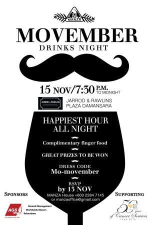MANZA Drinks Night November