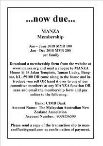 Membership Due 2018