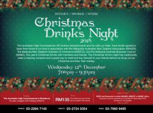 MANZA 2018 Christmas Drinks